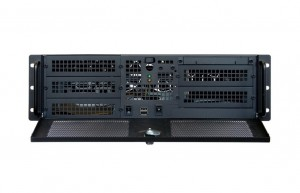 Chieftec IPC case 3U series UNC-310RL-B-OP, without PSU
