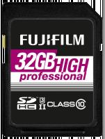 Fujifilm 32GB SDHC Card UHS-II High Professional Class 10 Paměťová karta