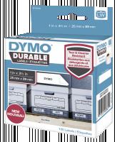 Dymo Durable štítky 25mm x 89mm bílá 1x 100 ks
