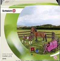 Schleich Horse Club 42192 Ohrada s koníky a příslušenstvím