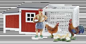 Schleich Farm Life 42191 Kurník pro slepice