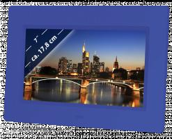 "Braun DigiFrame 709 Digitální fotorámeček 7"", modrá"
