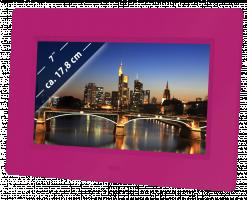 """Braun DigiFrame 709 Digitální fotorámeček 7"""", řůžová"""