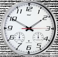 Mebus 52661 Rádiem řízené nástěné hodiny, bílá