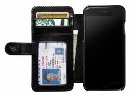 SENA Cases WalletBook Classic černá, iPhone 6 Ochranné pouzdro