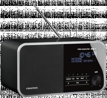 Grundig DTR 4000 DAB+BT Rádio, černá