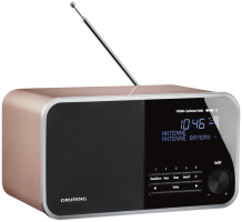 Grundig DTR 4000 DAB+BT Rádio, gold rose