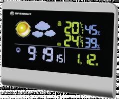 Bresser TemeoTrend Colour Meteorologická stanice, šedá