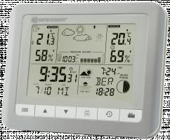 Bresser TemeoTrend WFS Meteorologická stanice, stříbrná