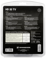 Sennheiser HD 35 TV Sluchátka, černá