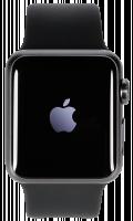 Apple Watch Series 1, šedá/černá 42 mm