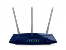 TP-Link Archer C58 AC1350 Dual band Wireless 802.11ac router 4xLAN, 3 anteny