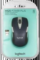Logitech M525 Bezdrátová myš, modrá