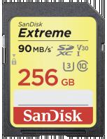 SanDisk Extreme SDHC Video 256GB 90MB/s V30 Paměťová karta