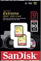 SanDisk Extreme SDHC Video 32GB 90MBs V30 2P Paměťová karta