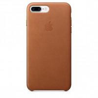 Apple iPhone 7 Plus Leather Case Saddle Brown
