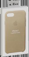 Apple iPhone 7 Kožený ochranný kryt Tan