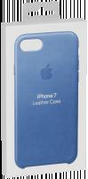 Apple iPhone 7 Kožený ochranný kryt Sea Blue