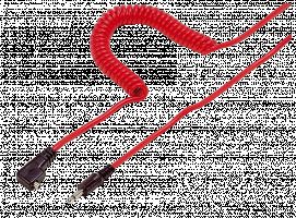 Kaiser Flash kabel PC - Jack 3,5mm 10 m, červená