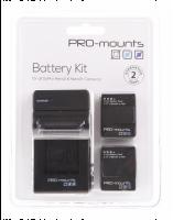 PRO-mounts Sada baterií pro Hero3 / Hero3+