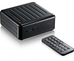 Asrock Beebox S 7100U/B/BB 2.4GHz i3-7100U PC s objemem 0,6 l Černá