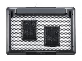 """Cooler Master MNZ-SMTE-20FY-R1 17"""" Černá, Stříbrná chladicí podložka pro notebook"""