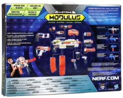 Nerf N-Strike Elite XD Modulus Mission sada Strike & Defend