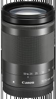 Canon EF-M 3,5-6,3/18-150 IS STM Objektiv, černá