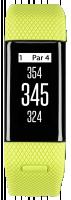 Garmin Approach X40 Chytré hodinky lime/blue