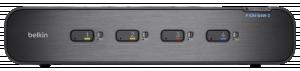 Belkin Advanced Secure Dual-Head KVM Switch 4-Port 2x HDMI 8x DP
