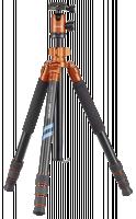 Cullmann Mundo 525M Stativ, černá/oranžová