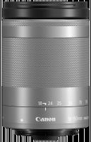 Canon EF-M 3,5-6,3/18-150 IS STM Objektiv, stříbrná