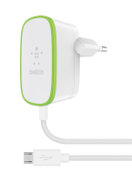 Belkin Line Adaptér bílá 2,4 A s fix Micro-USB kabel 1,8m