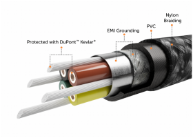 nonda Lightning kabel 1,2m 180°