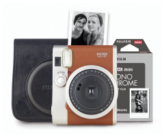Fujifilm Instax mini 90 Retro-Set, hnědá