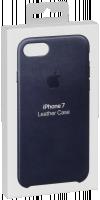 Apple iPhone 7 Kožený kryt, Midnight Blue