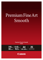 Canon FA-SM 1 Premium FineArt Smooth A 4, 25 Sheet, 310 g