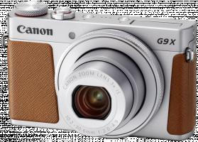 Canon PowerShot G9X Mark II stříbrná barva