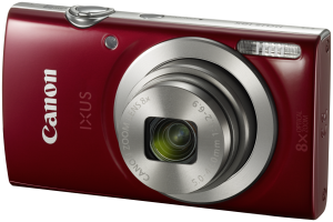 Canon IXUS 185 červená barva