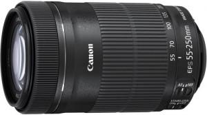 Canon EF-S 55-250mm f/4,0-5,6 IS STM + ET-63