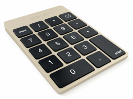 Satechi Slim Wireless Keypad Gold