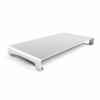 Satechi Slim Aluminum Stojan na monitor, stříbrná