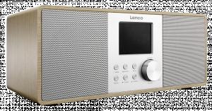 Lenco DIR-200 Rádio, hnědá