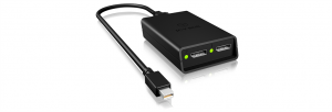 IcyBox DisplayPort to Dual DisplayPort graphics splitter