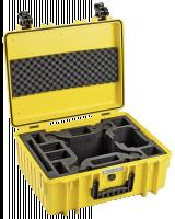 B&W Copter Case Type 6000/Y žlutá DJI Phantom 4 Pro Inlay