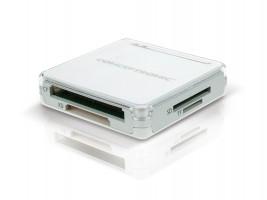 Conceptronic All in One memory card reader/writer - Čtečka karet - all-in-1 ( CF I, CF II, MS, MMC, SD, SDHC ) - USB 2.0