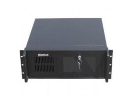 "Gembird 19"" Rack-mount server chassis (4U), 7 PCI on/off, black"