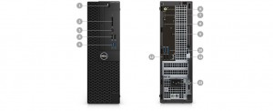 DELL OptiPlex SFF 3050 Core i5-7500/8GB/256GB SSD/Intel HD/Win 10 Pro 64bit/3Yr NBD