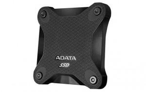 ADATA externí SSD SD600 3D NAND, 256GB, USB 3.1, černá