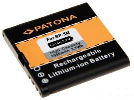 PATONA baterie pro mobil Nokia BP-5M 1000mAh 3,7V Li-Ion